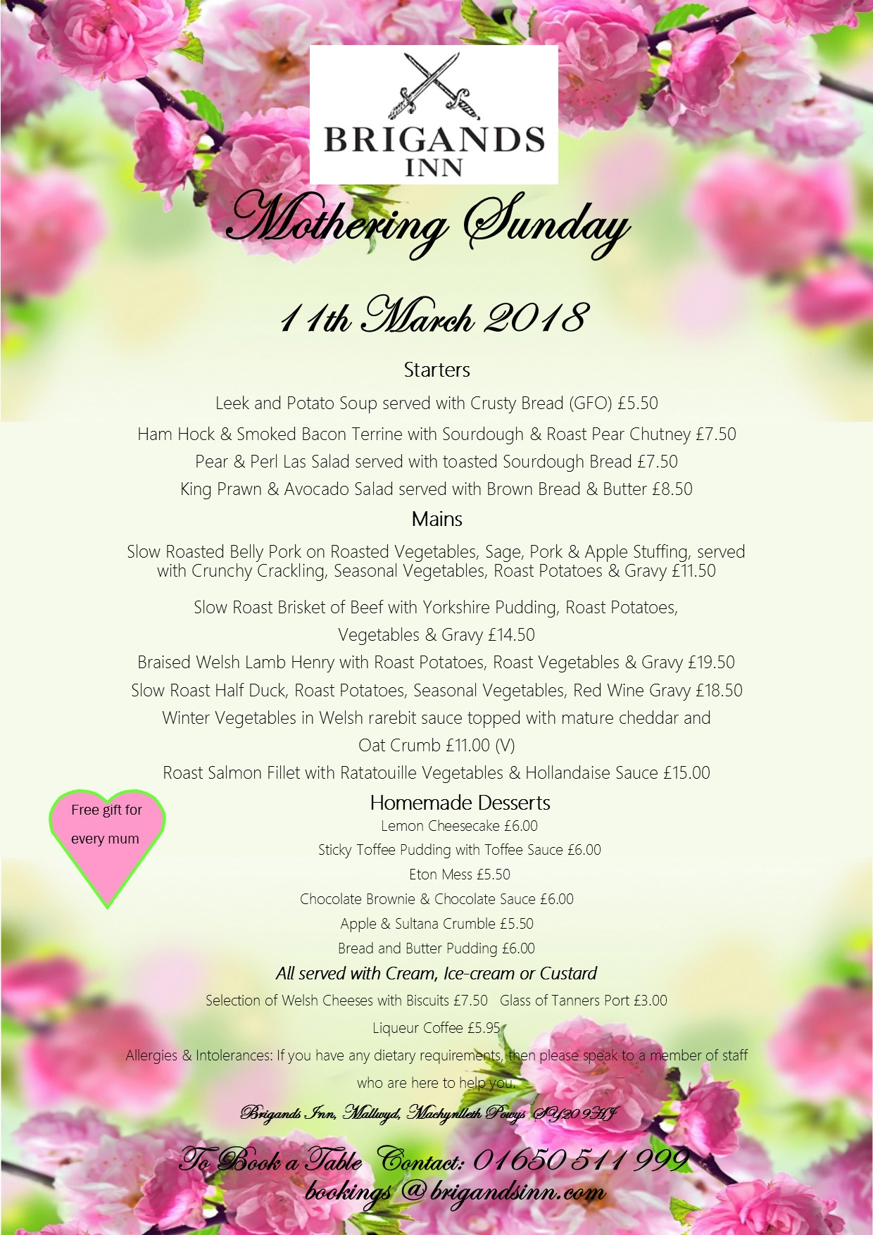 sunday 11th march